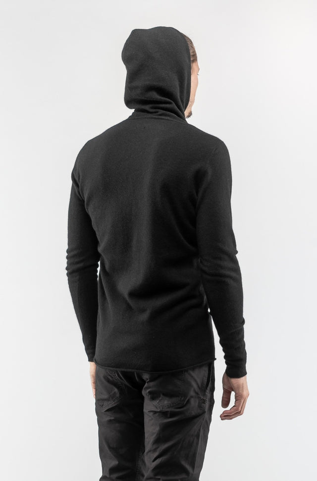 Punched Balaclava Sweater In Wool