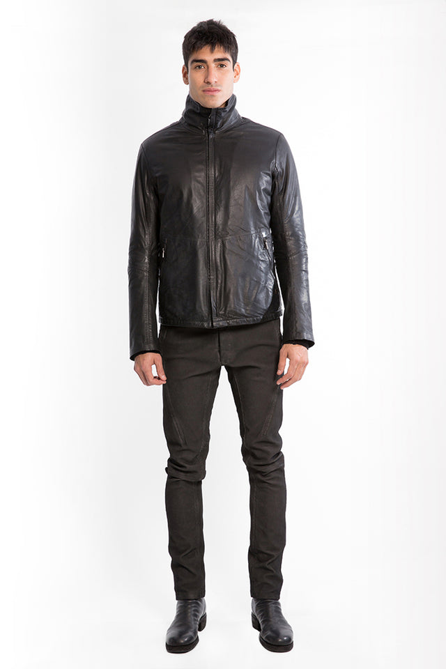 Isaac Sellam Fumiste Leather Jacket