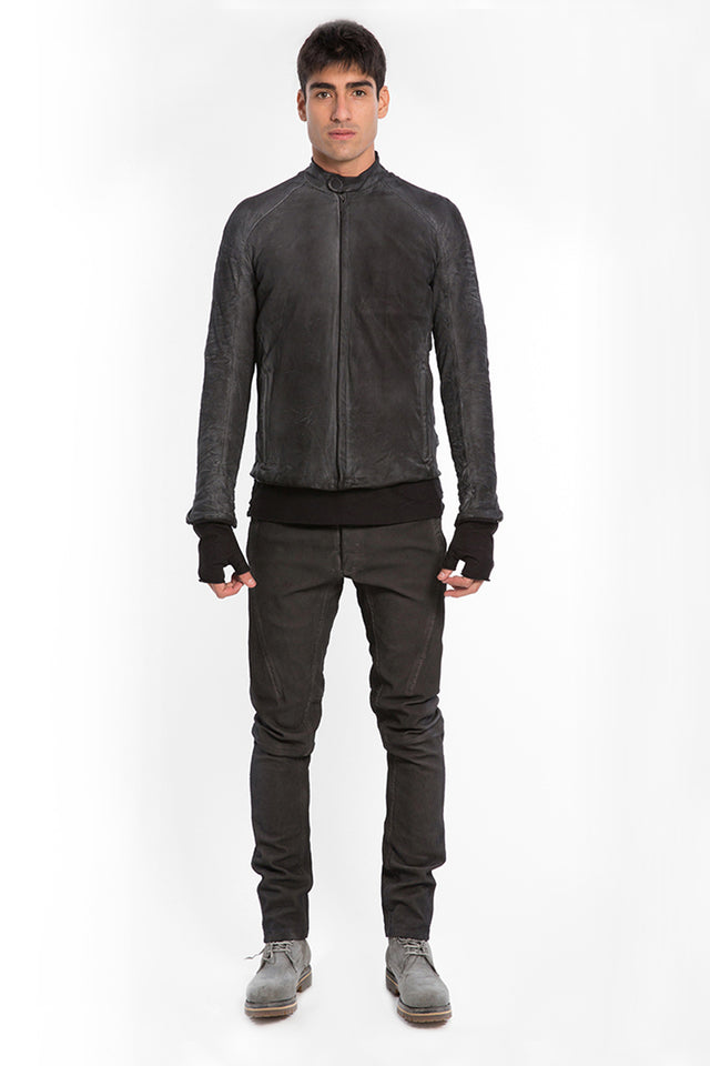 Layer-0 E Jacket In Leather