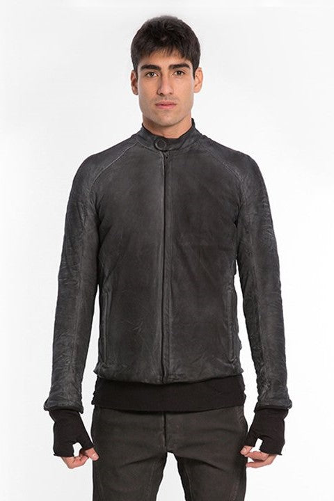 E Jacket In Leather