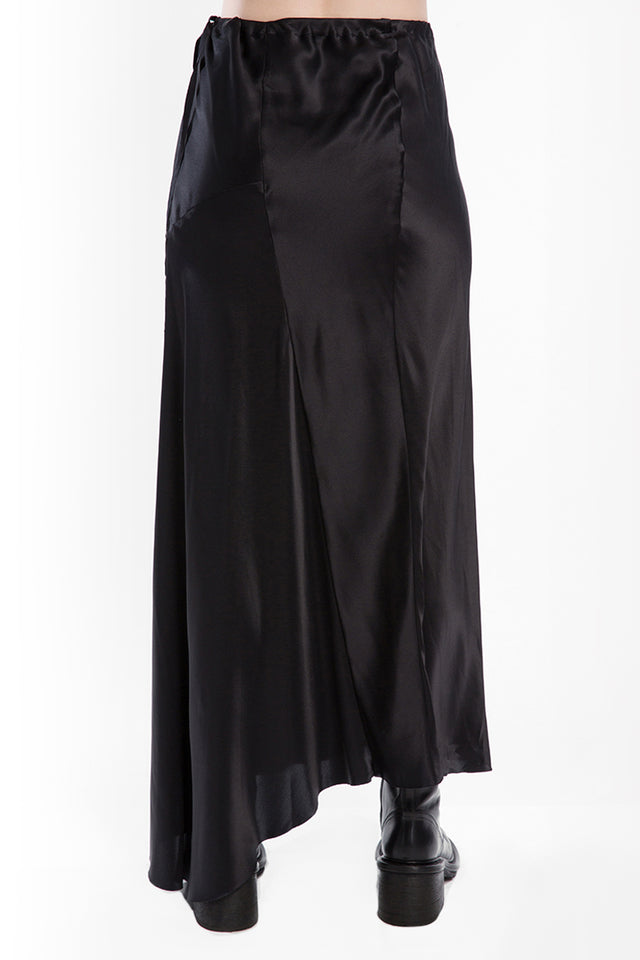 Ann Demeulemeester Gusset Skirt In Black