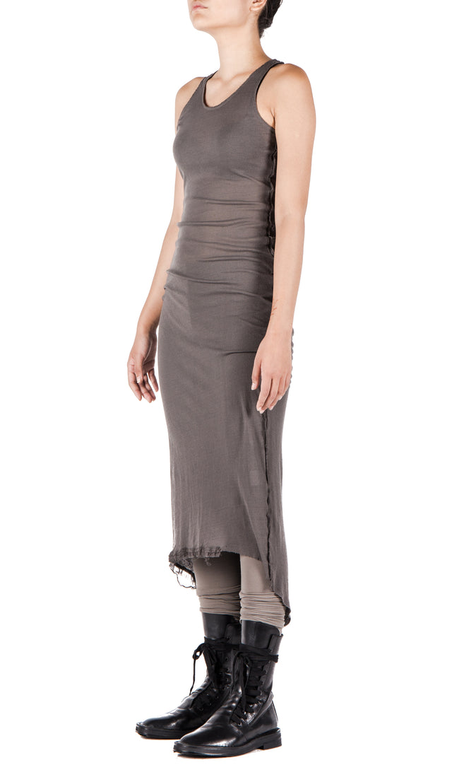 Serien Umerica Long Dress In Taupe