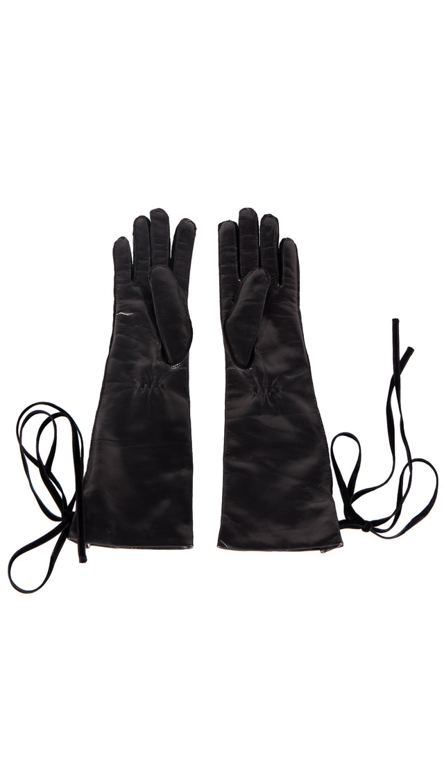 Ann Demeulemeester Joris Black Gloves
