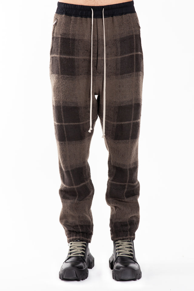 Rick Owens Woven Track Pants in Dust