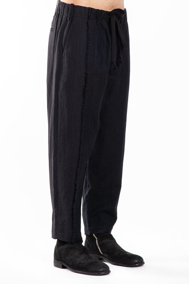 Uma Wang Pigiama Pants in Black