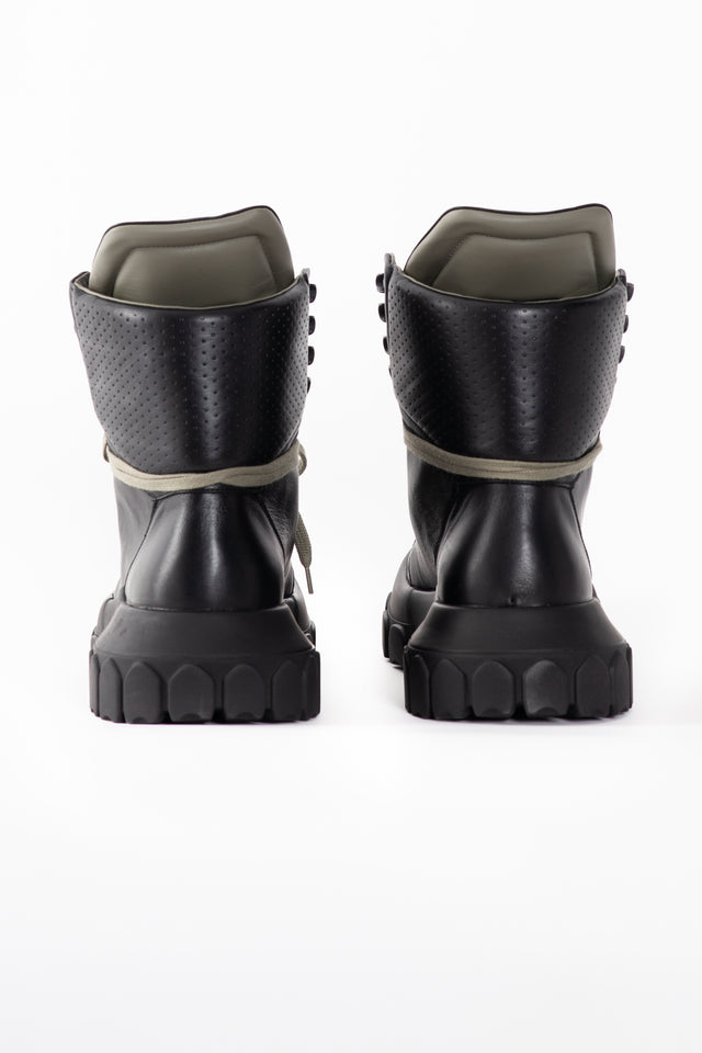 Rick Owens Hiking Leather Boots