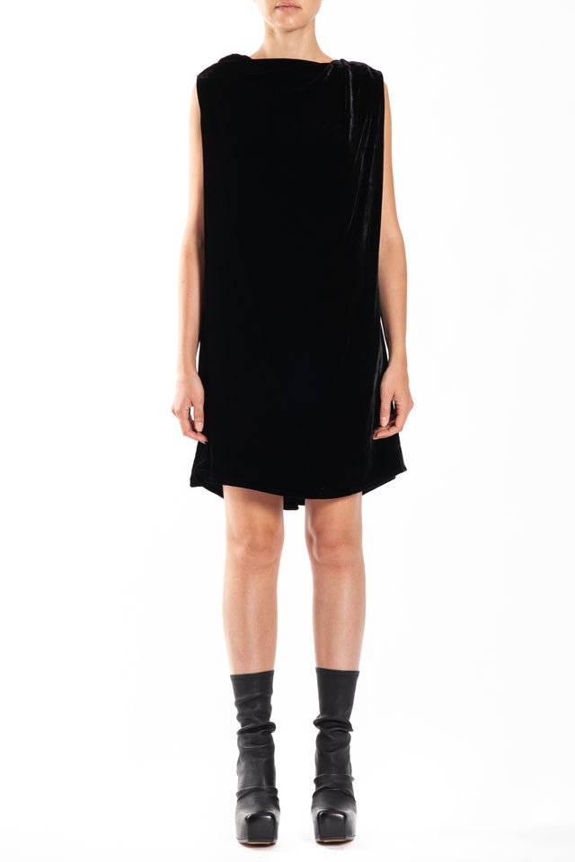 Rick Owens Toga Woven Tunic in Black