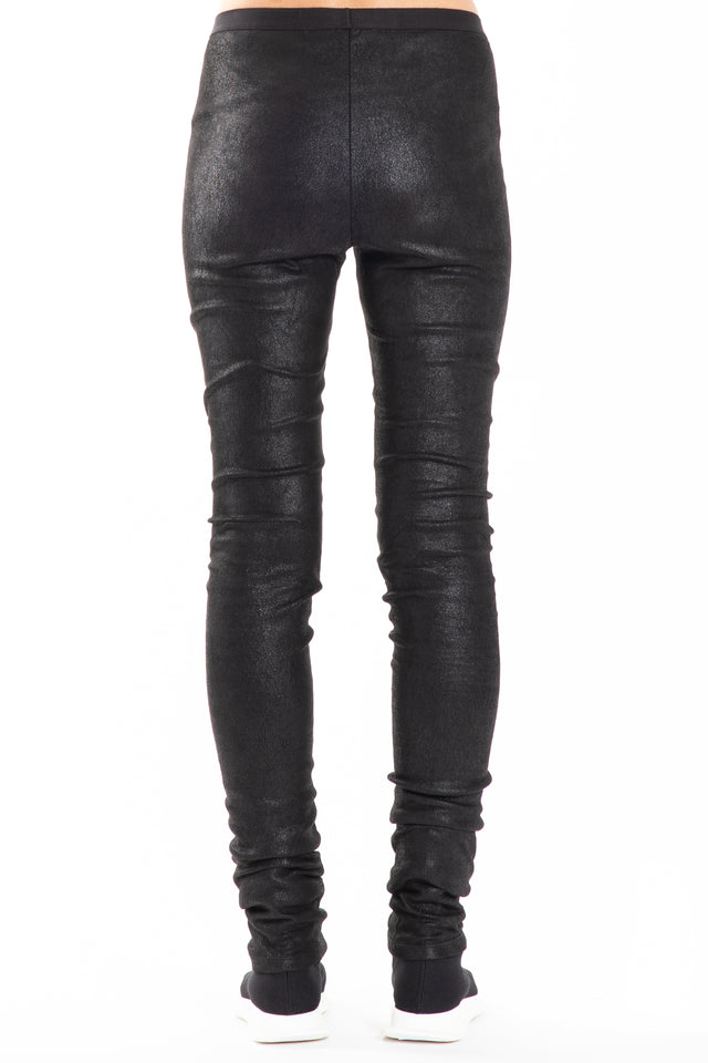 Rick Owens Leather Legging in Black