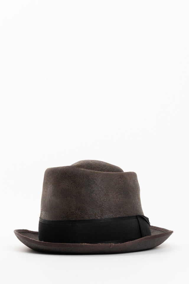 Horisaki One Of A Kind Hat In Grey No. 42