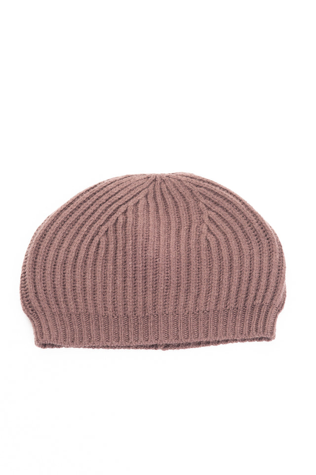 Rick Owens Knit Hat in Raisin