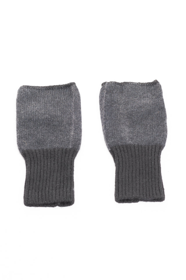 Gloves In Black + Grey