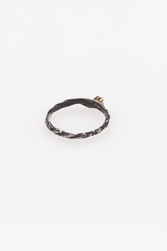 Rene Talmon L'Armee Ring with Black Diamond