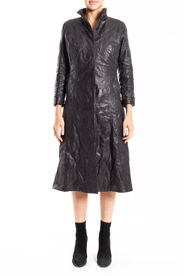 Layer-0 H Trench Coat in Black