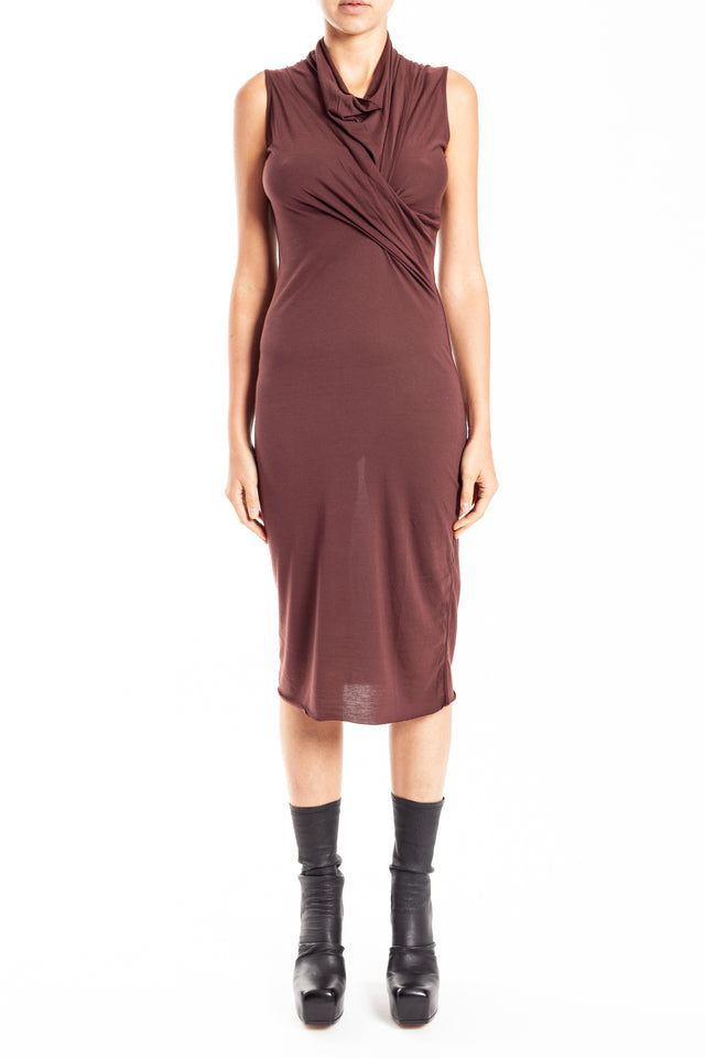 Rick Owens Lilies Abito Dress in Blood