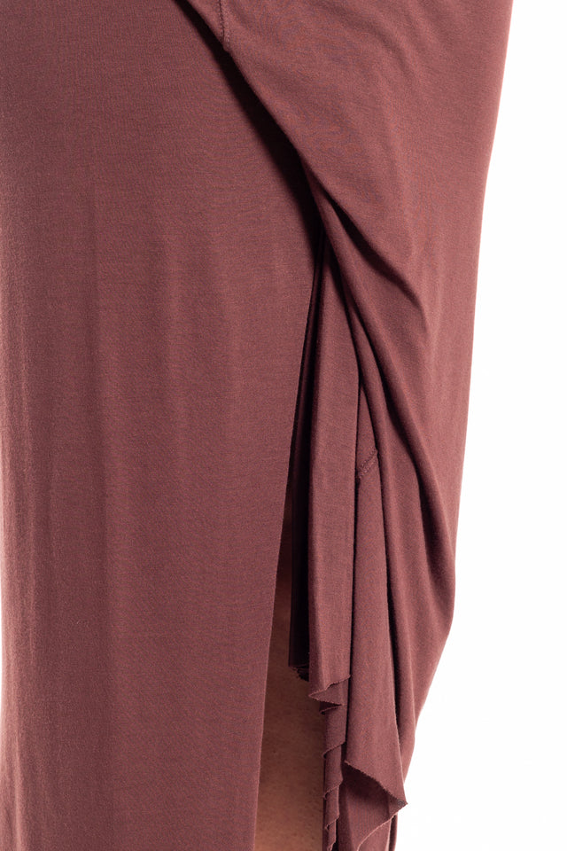 Rick Owens Lilies Layered Skirt in Blood