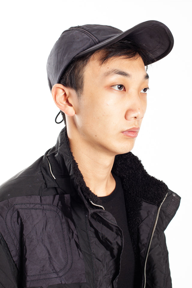 Kanghyuk Airbag Cap in Mono Black