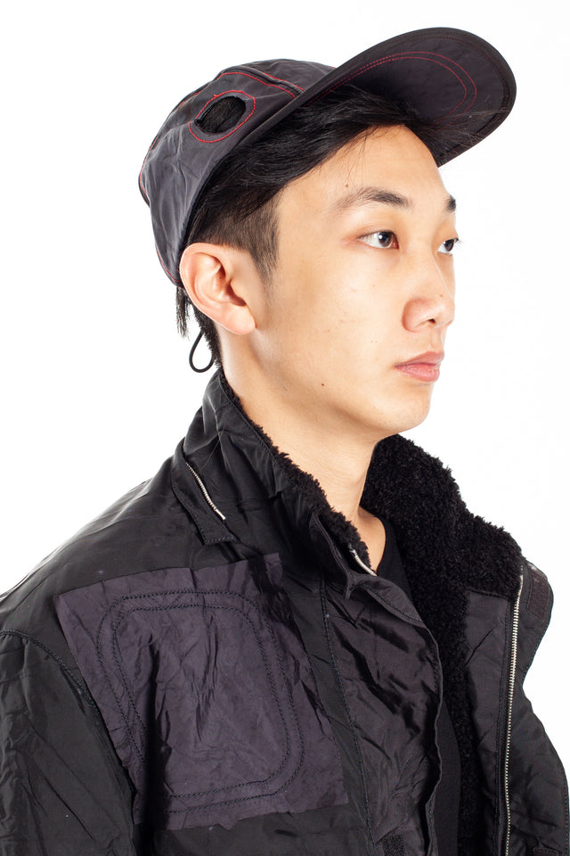 Kanghyuk Airbag Cap in Black