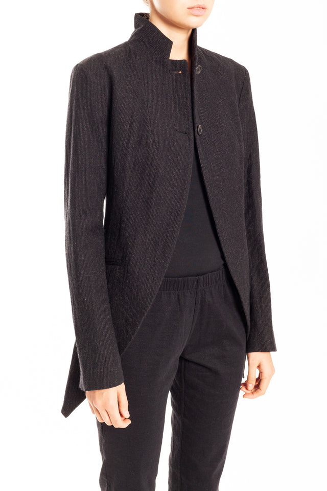 Forme d'expression Tailed Habit Jacket in Night