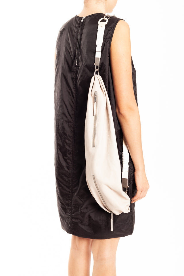 Rick Owens Sash Leather Bag in Pearl