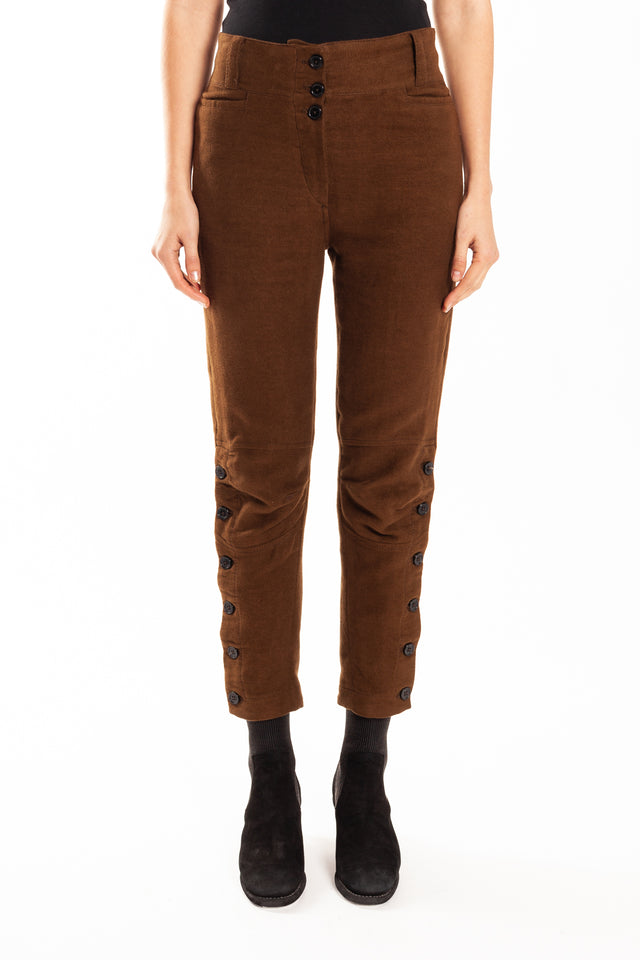 Ann Demeulemeester Niles Trousers in Tobacco