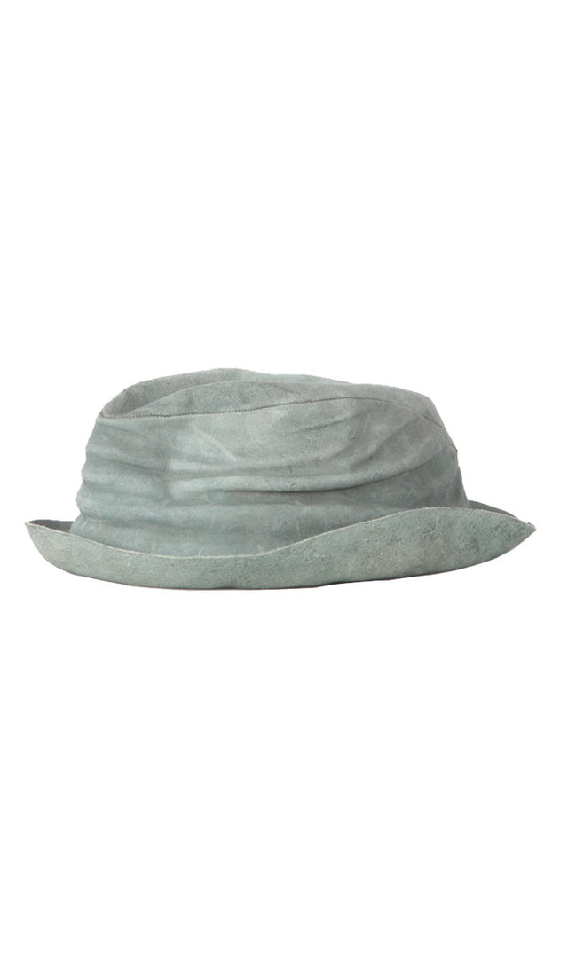 Layer-0 H2 Hat in Grey Cordovan