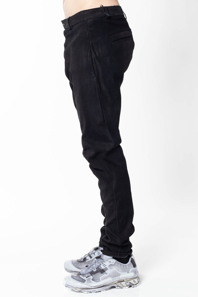 Isaac Sellam Pistonne H19 Leather Trousers in Black