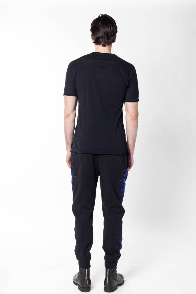 Layer-0 SS T-Shirt in Black