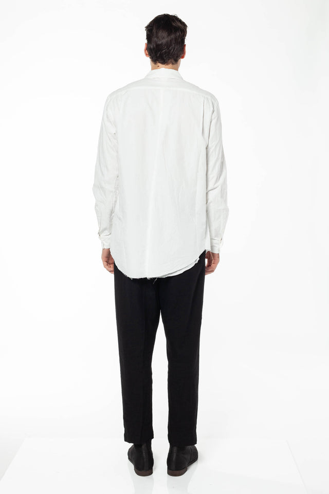 Forme D'Expression Layered Shirt In White
