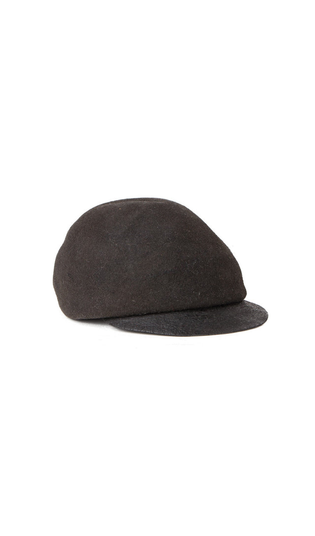 Horisaki Suede Burnt Bill Hat