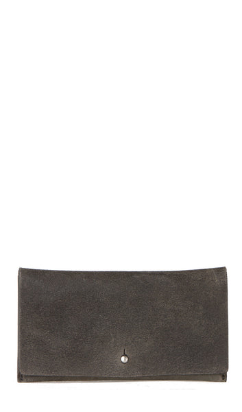 Medium Flat wallet in Darkdust