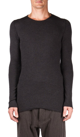 Textured Knit Crewneck