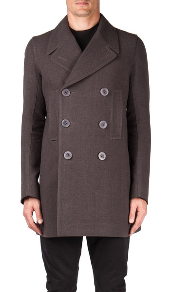 Church peacoat