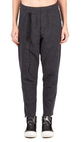 Charcoal Drawstring Trouser