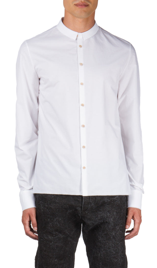 Frayed Shirt in White