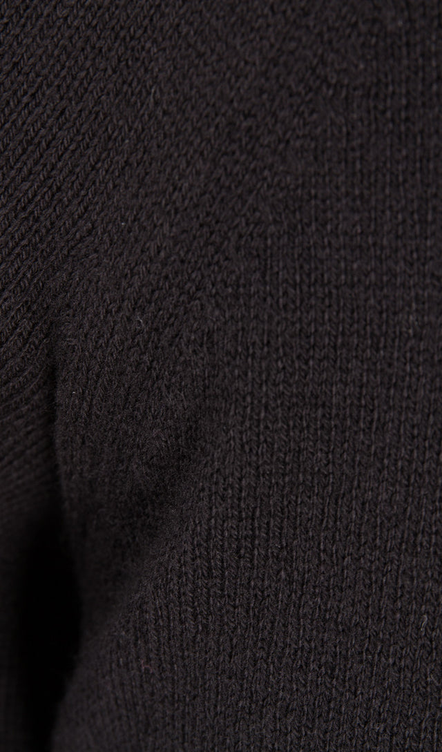 Label Under Construction Punched Sweater