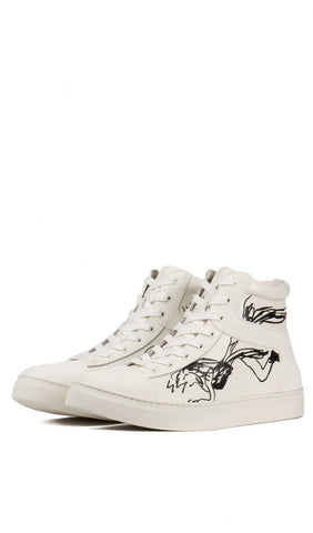 High Cut Zip Sneaker
