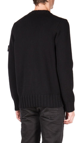 Classic Knit Sweater in Black