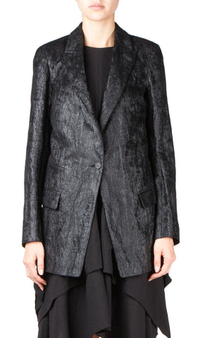 mannish coat