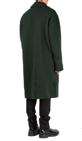 DBF Big Coat in Bottle Green