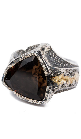 Antique Triangle Stone Ring