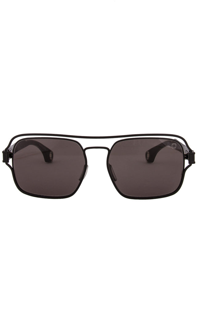 Black Hastings Sunglasses