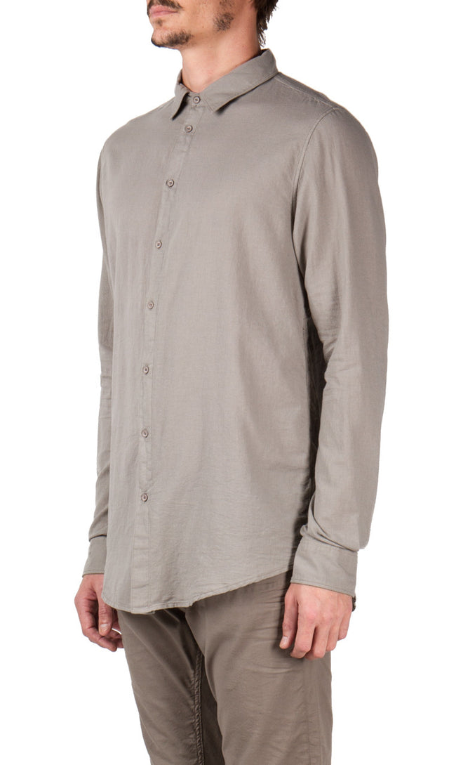 Central Seam Shirt in Grey