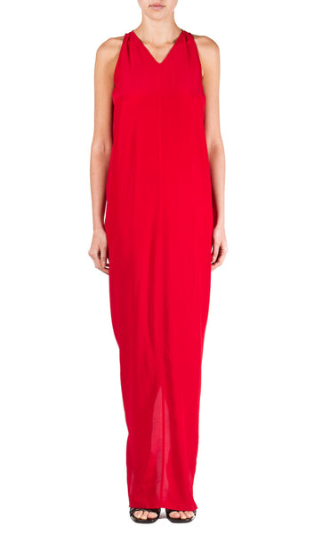 Moody Tank Gown in Red