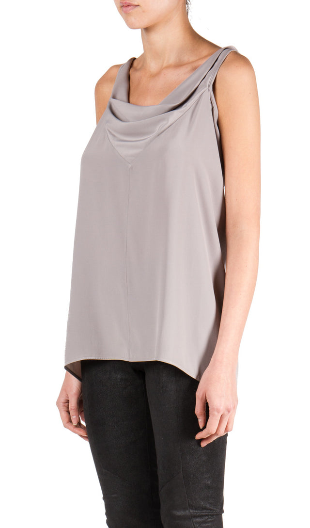 Rick Owens Naska Top In Fog