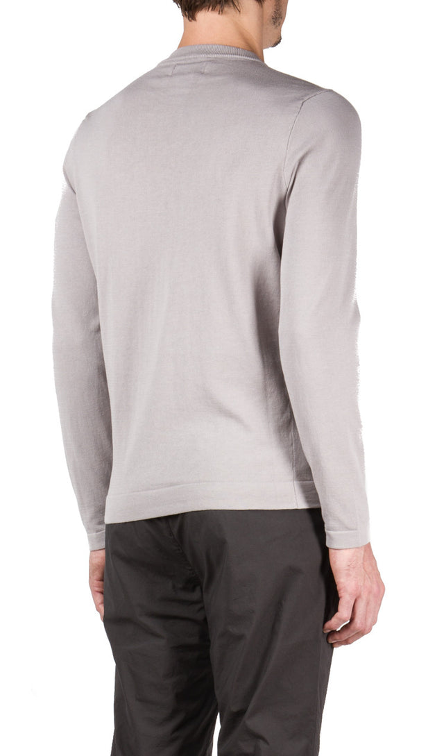 Crew Neck Knit in Grey