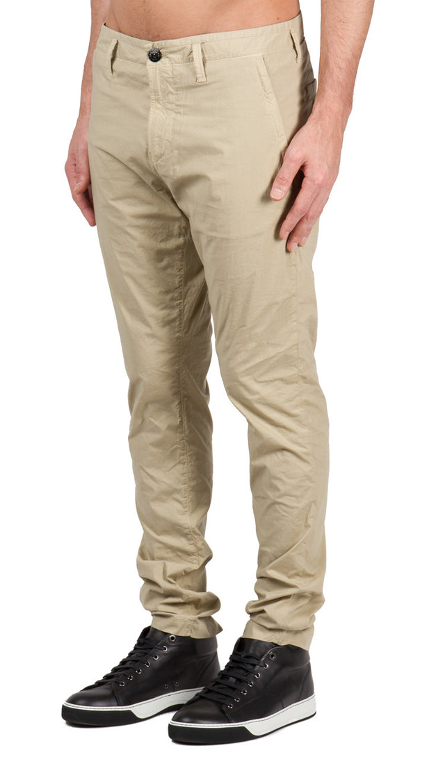 Zip Pocket Pant in Natural