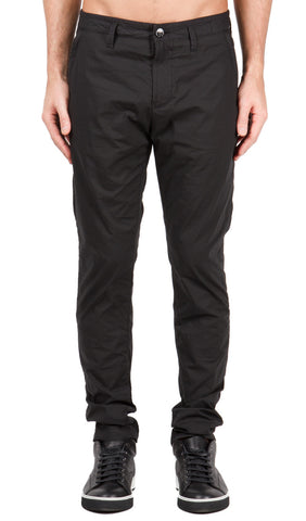 Zip Pocket Pant in Black