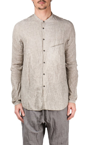 Sand No Collar Shirt