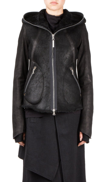 reveuse shearling jacket