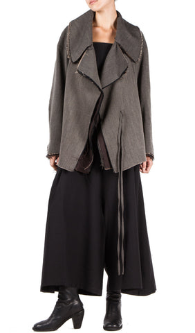 short caban coat